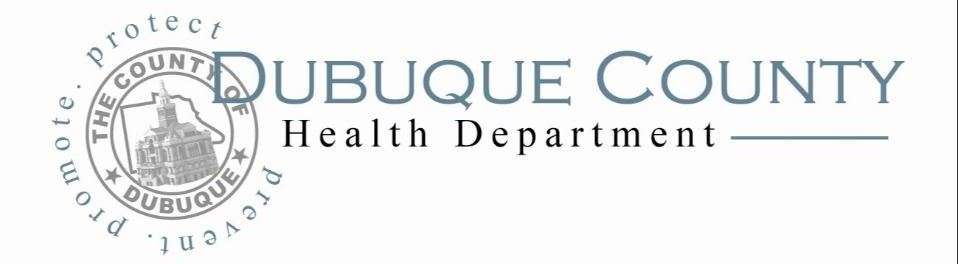 Dubuque County Health department logo