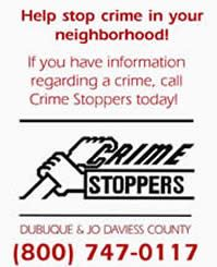 Crime Stoppers - Help stop crime in your neighborhood